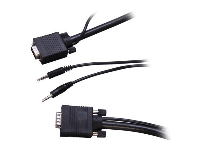 Link Depot SVGA-3-A 3 ft. SVGA Monitor and 3.5 mm Audio Combo Cable