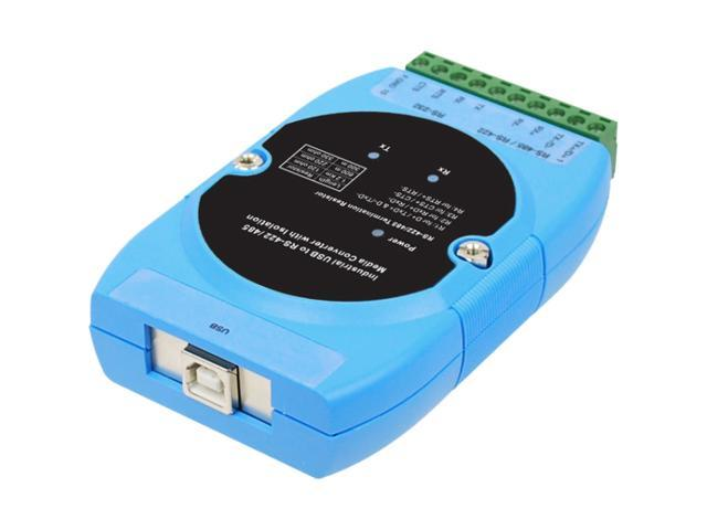 SIIG CyberX Industrial 1-port RS-422/485 USB to Serial Isolated Converter - Wide Temperature