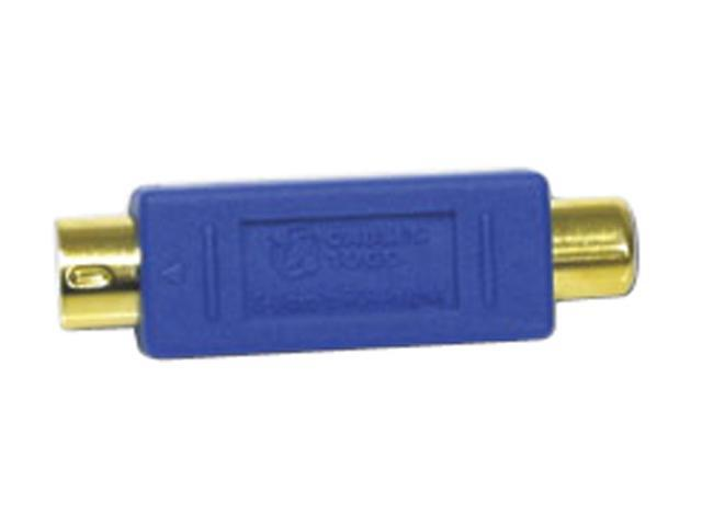 Cables To Go 13058 Bi-Directional S-Video Male/ RCA Female Video Adapter