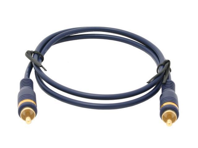 C2G 27230 3 ft. Velocity RCA Video Interconnect M-M