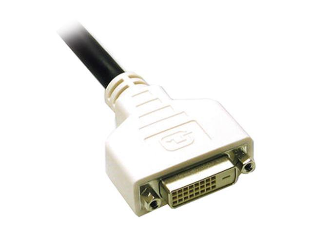 Cables To Go 29530 Black 16.40 ft. DVI-D Male to DVI-D Female M-F DVI-D M/F Dual Link Digital Video Extension Cable