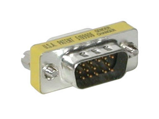 C2G 19942 HD15 VGA M/F Mini Port Saver Adapter