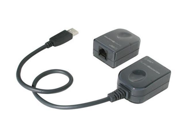 Cables To Go 29341 150 ft. Black USB Superbooster Extender