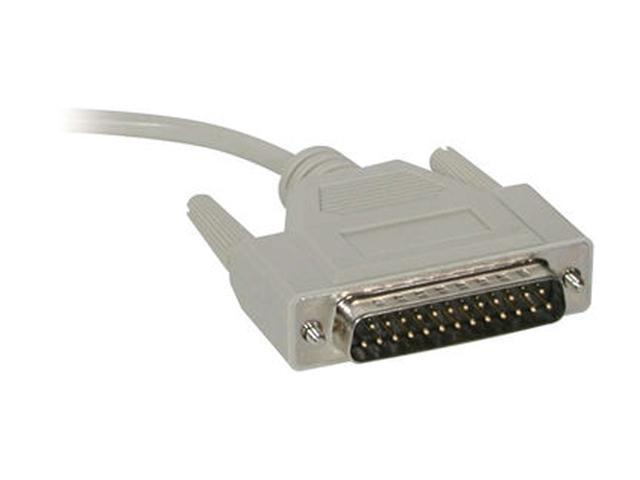 Cables To Go Model 05715 3 ft. DB9 Female to DB25 Male Modem Cable F-M