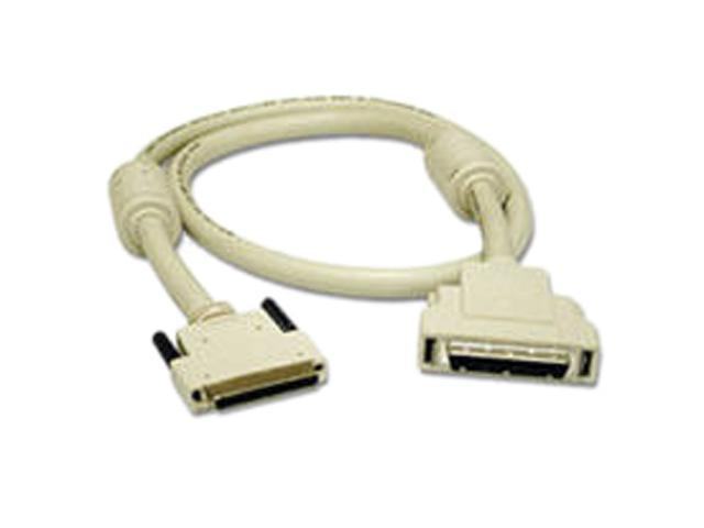 Cables To Go Model 28157 6 ft. LVD/SE VHDCI .8mm 68-pin to SCSI-2 MD50 Cable with Ferrites M-M
