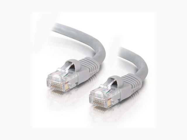 C2G 15177 3 ft. Cat 5E Gray Cat5E 350 MHz Snagless M-M Patch Cable - Gray