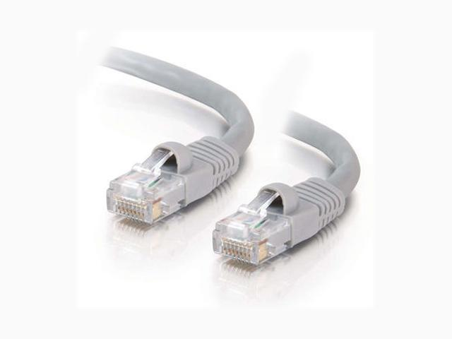 C2G 15192 7ft Cat5E 350 MHz Snagless Patch Cable - Gray