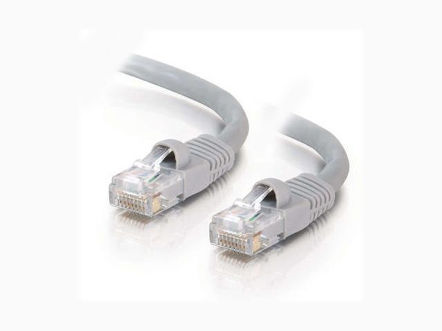 C2G 15211 25ft Cat5E 350 MHz Snagless Patch Cable - Gray
