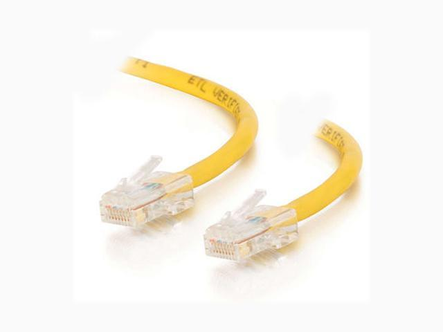 C2G 22676 3 ft. Cat 5E Yellow 350 MHz Assembled Patch Cable