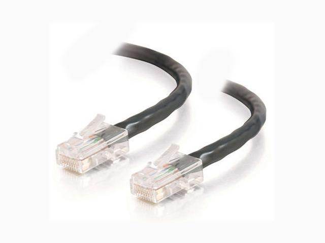 C2G 22689 7ft Cat5E 350 MHz Assembled Patch Cable - Black