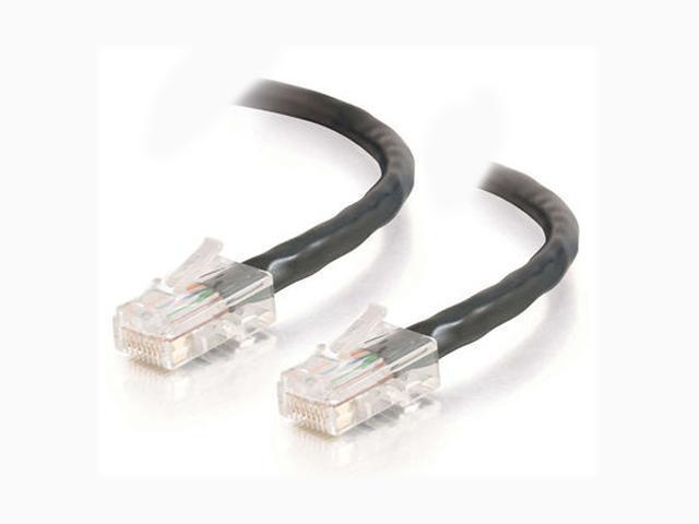 C2G 22701 14ft Cat5E 350 MHz Assembled Patch Cable - Black