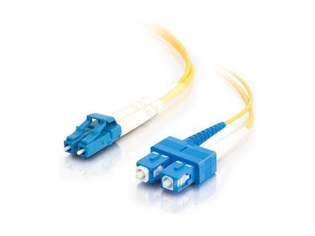 C2G 29920 3m LC/SC Duplex 9/125 Single Mode Fiber Patch Cable - Yellow