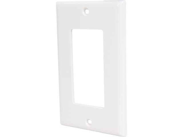 C2G 03725 Decorative Single Gang Wall Plate