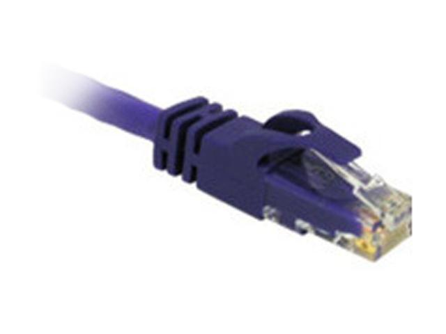 C2G 27804 14ft Cat6 550 MHz Snagless Patch Cable - Purple