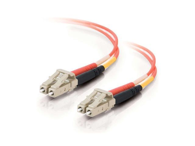 C2G 33178 15m LC/LC Duplex 62.5/125 Multimode Fiber Patch Cable - Orange