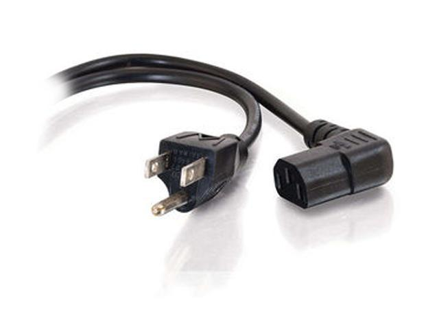 Cables To Go Model 27909 10 ft Universal Right Angle Power Cord