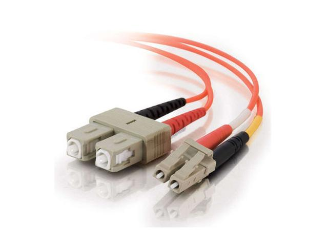 C2G 33154 1m LC/SC Duplex 62.5/125 Multimode Fiber Patch Cable - Orange