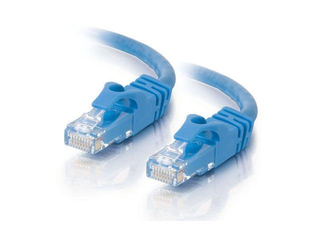 C2G 31361 75ft Cat6 550MHz Snagless Patch Cable - Blue