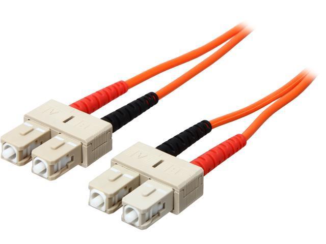Cables To Go 09115 9.84 ft. SC/SC Duplex 62.5/125 Multimode Fiber Patch Cable