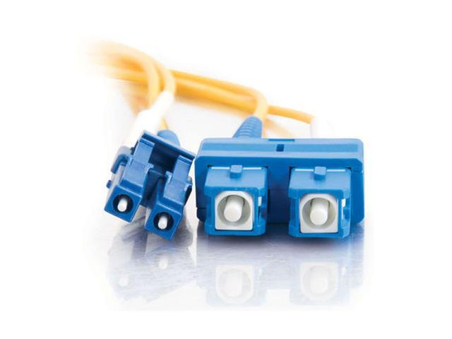 Cables To Go 28950 16.40 ft. LC/SC Duplex 9/125 Single Mode Fiber Patch Cable