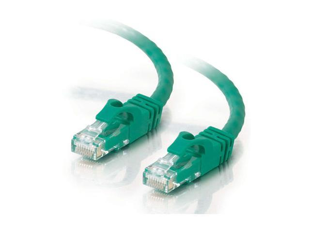 C2G 31354 35 ft. Cat 6 Green 550 MHz Snagless Patch Cable