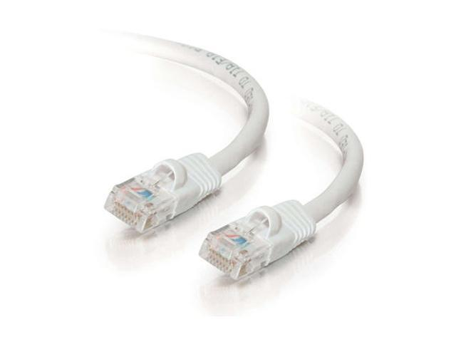 C2G 19477 5ft Cat5E 350 MHz Snagless Patch Cable - White