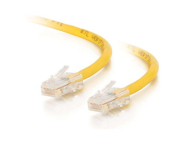 C2G 25623 1ft Cat5E 350 MHz Assembled Patch Cable - Yellow