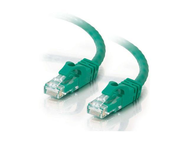 C2G 27175 25ft Cat6 550 MHz Snagless Patch Cable - Green