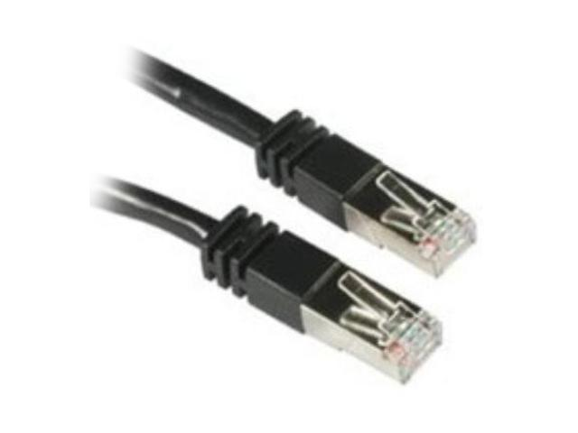 C2G 28690 3 ft. Cat 5E Black Molded Patch Cable