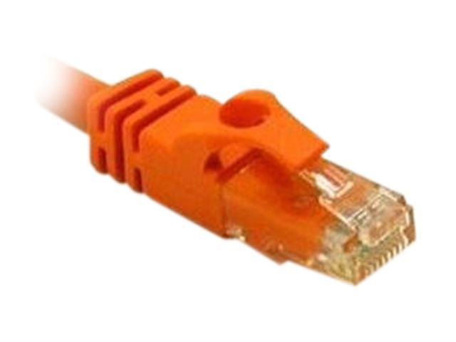 C2G 31358 35 ft. Cat 6 Orange Snagless Patch Cable