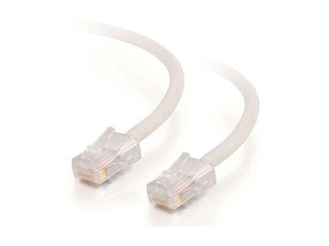 C2G 27976 1ft Cat5E 350 MHz Assembled Patch Cable - White