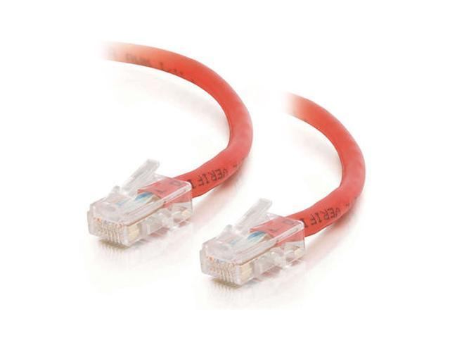 C2G 22699 14ft Cat5E 350 MHz Assembled Patch Cable - Red