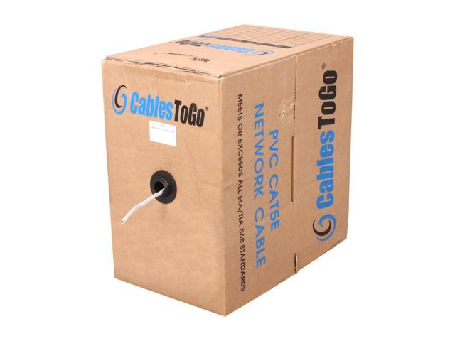 C2G 27352 1000 ft. UTP 350 MHz Solid PVC CMR-Rated Cable