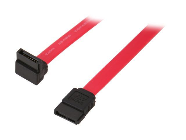"StarTech SATA18RA1 18"" SATA to Right Angle SATA Serial ATA ..."