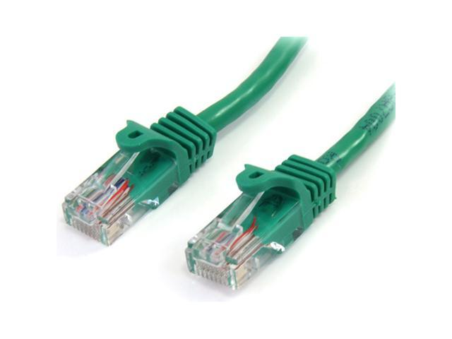 StarTech 45PATCH6GN 6 ft. Cat 5E Green Snagless Category 5e (350 MHz) UTP Patch Cable