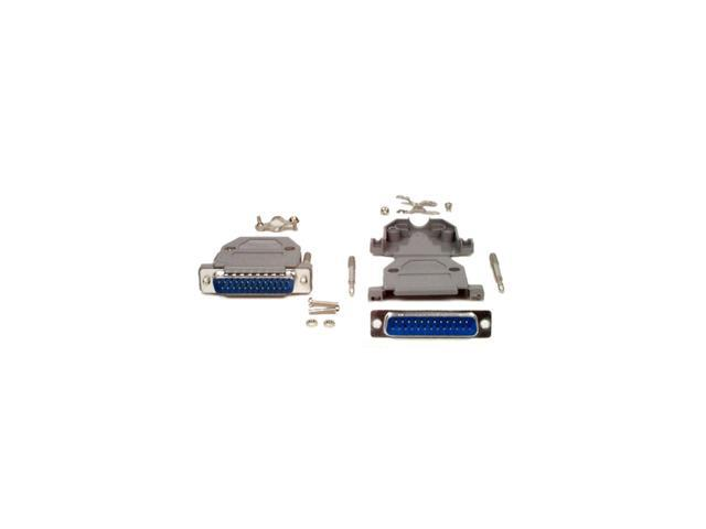 StarTech C25PSM Assembled DB25 Male Solder D-SUB Connector with Plastic Backshell