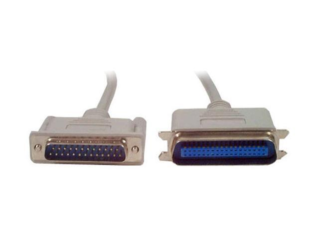 StarTech Model PB6_ 6 ft. DB25 to Centronics 36 Parallel Printer Cable M-M