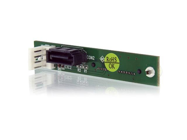 StarTech SLSATACDADAP Female Slimline SATA to SATA Adapter with SP4 Power