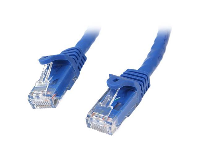 StarTech N6PATCH75BL 75 ft. Cat 6 Blue Snagless UTP Patch Cable - ETL Verified