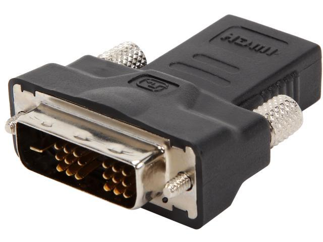 GIGABYTE 12CT2-HDMI02-11R DVI-D Male to HDMI 19P Female Adapter