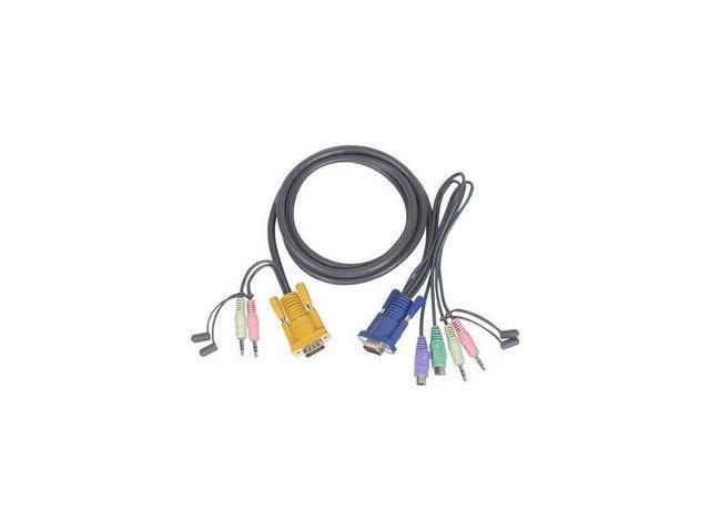 IOGEAR 10 ft. PS/2 KVM Cable for GCS1758/1732/1734 G2L5303P