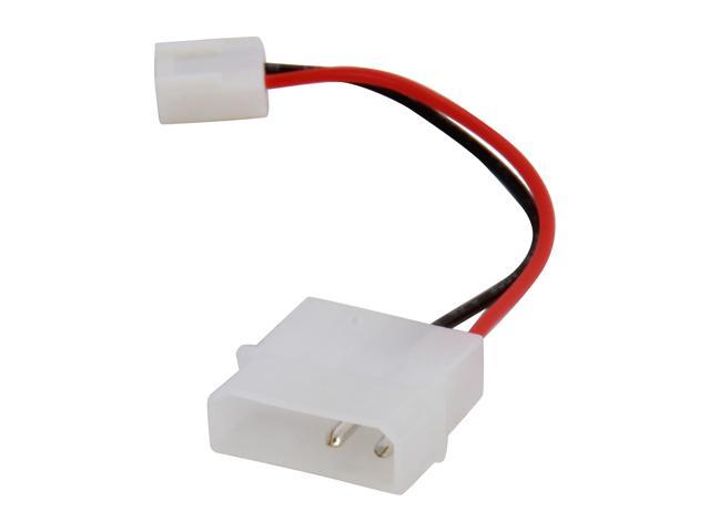 "KINGWIN ML-01 4"" 4 Pin (M) to 3 Pin (F) Adapter Cable"