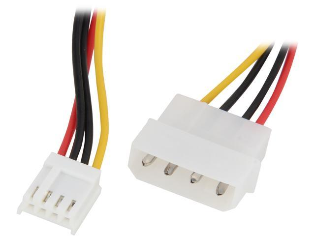 KINGWIN ML-03 4 Pin Molex(M) to 4 Pin Floppy(F) Power Adapter Cable