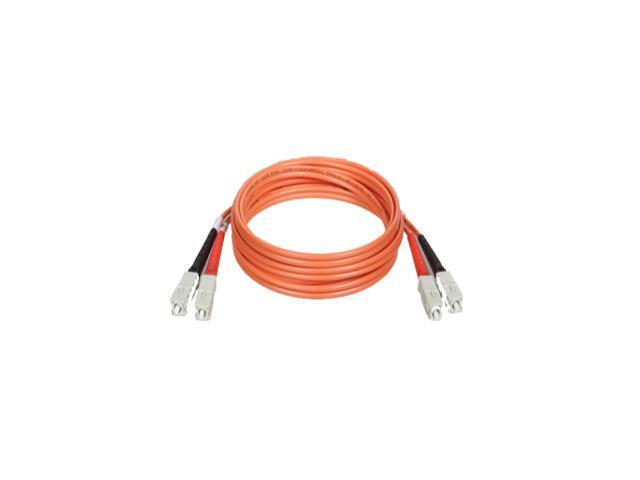 TRIPP LITE N306-05M 16.40 ft. Orange Fiber Optic Multimode Duplex Patch Cable