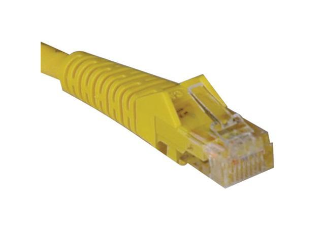 TRIPP LITE N001-010-YW 10 ft. Cat 5E Yellow 350MHz Snagless Molded Network Cable