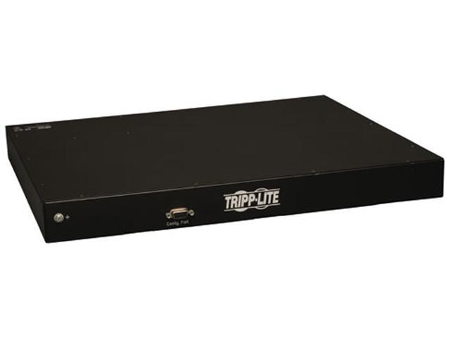 Tripp Lite PDUMNH20HV Monitored 1U 208/240 and 230V 20A 8.5 ft. Power Distribution Unit