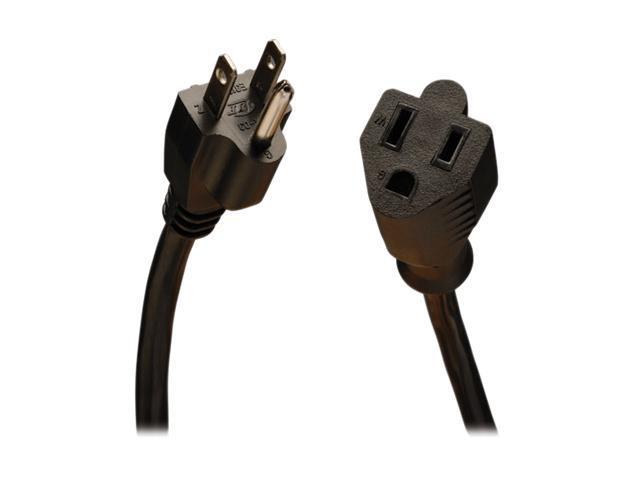 Tripp Lite Model P022-015 15 ft. 16AWG Power Extension Cord (NEMA 5-15R to NEMA 5-15P)