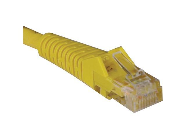 Tripp Lite N001-050-YW 50-ft. Yellow Cat5e 350MHz Snagless Molded Cable (RJ45 M/M)