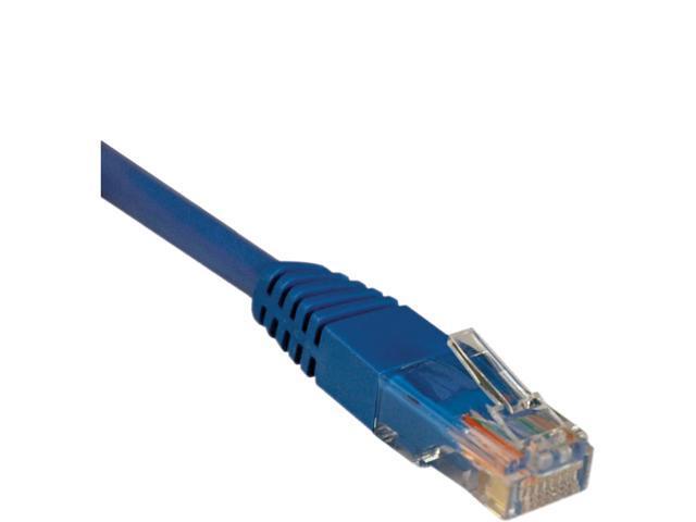 Tripp Lite 30-ft. Cat5e 350MHz Molded Cable (RJ45 M/M) - Blue