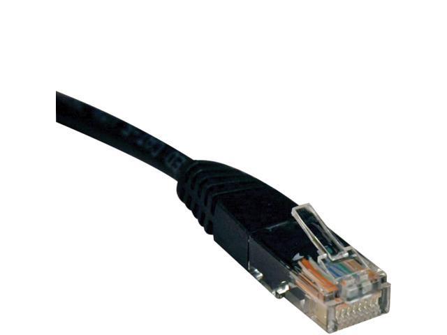 Tripp Lite 100-ft. Cat5e 350MHz Molded Cable (RJ45 M/M) - Black